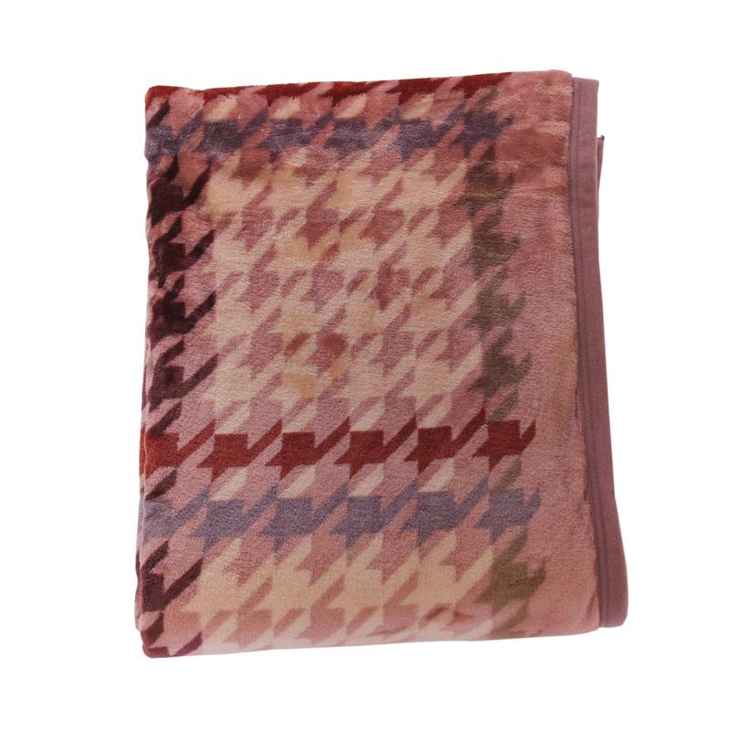 昭和西川 なめらかあたたか ニューマイヤー毛布
